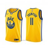 Camiseta Golden State Warriors Klay Thompson #11 Statement 2019-20 Oro