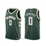 Camiseta Milwaukee Bucks Donte Divincenzo #0 Icon Verde