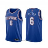 Camiseta New York Knicks Elfrid Payton #6 Statement 2019-20 Azul