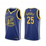 Camiseta Golden State Warriors Chasson Randle #25 Icon Azul