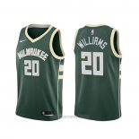 Camiseta Milwaukee Bucks Marvin Williams #20 Icon Verde