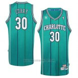 Camiseta Charlotte Hornets Dell Curry #30 Retro Verde