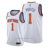 Camiseta New York Knicks Bobby Portis #1 Association Blanco