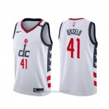 Camiseta Washington Wizards Wes Unseld #41 Ciudad Blanco