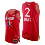 Camiseta All Star 2020 Western Conference Lebron James #2 Rojo