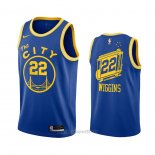 Camiseta Golden State Warriors Andrew Wiggins #22 Hardwood Classics 2020-21 Azul
