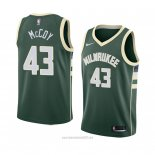 Camiseta Milwaukee Bucks Brandon Mccoy #43 Icon 2018 Verde