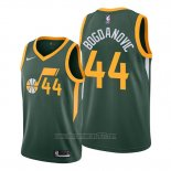 Camiseta Utah Jazz Bojan Bogdanovic #44 Earned Verde