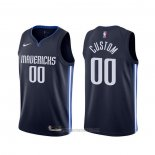 Camiseta Dallas Mavericks Personalizada Statement Azul