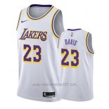 Camiseta Los Angeles Lakers Anthony Davis #23 Association 2019-20 Blanco