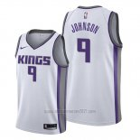 Camiseta Sacramento Kings B.j. Johnson #9 Association Blanco