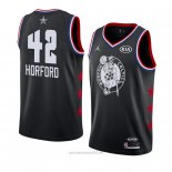 Camiseta All Star 2019 Boston Celtics Al Horford #42 Negro
