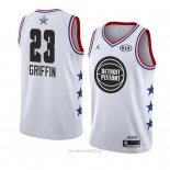 Camiseta All Star 2019 Detroit Pistons Blanco Blake Griffin #23 Blanco