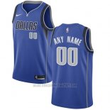 Camiseta Dallas Mavericks Personalizada 17-18 Azul