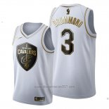 Camiseta Golden Edition Cleveland Cavaliers Andre Drummond #3 2019-20 Blanco
