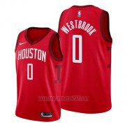 Camiseta Houston Rockets Russell Westbrook #13 Earned 2019 Rojo