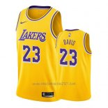 Camiseta Los Angeles Lakers Anthony Davis #23 Icon 2019-20 Amarillo