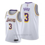 Camiseta Los Angeles Lakers Anthony Davis #3 Association 2019 Blanco
