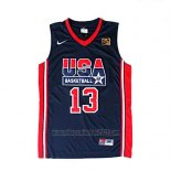 Camiseta USA 1992 Chris Mullin #13 Negro