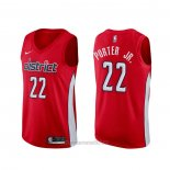 Camiseta Washington Wizards Otto Porter Jr. #22 Earned Rojo