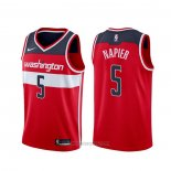Camiseta Washington Wizards Shabazz Napier #5 Icon Rojo