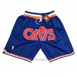 Pantalone Cleveland Cavaliers Just Don Azul