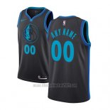 Camiseta Dallas Mavericks Personalizada Ciudad 2018-19 Azul