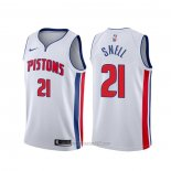 Camiseta Detroit Pistons Tony Snell #21 Association 2019-20 Blanco