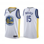 Camiseta Golden State Warriors Mychal Mulder #15 Association Blanco
