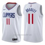 Camiseta Los Angeles Clippers Avery Bradley #11 Association 2017-18 Blanco