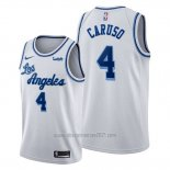 Camiseta Los Angeles Lakers Alex Caruso #4 Classic Edition 2019-20 Blanco