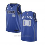 Camiseta Nino Dallas Mavericks Personalizada 17-18 Azul