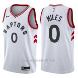 Camiseta Toronto Raptors Cj Miles #0 Association 2017-18 Blanco