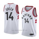 Camiseta Toronto Raptors Danny Green #14 Association 2018 Blanco
