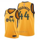 Camiseta Utah Jazz Bojan Bogdanovic #44 Statement Oro
