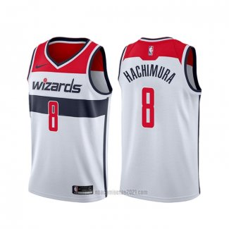 Camiseta Washington Wizards Rui Hachimura #8 Association 2019-20 Blanco