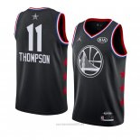 Camiseta All Star 2019 Golden State Warriors Klay Thompson #11 Negro