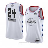 Camiseta All Star 2019 Los Angeles Lakers Kobe Bryant #24 Blanco