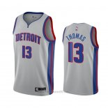 Camiseta Detroit Pistons Khyri Thomas #13 Statement 2020-21 Gris