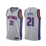 Camiseta Detroit Pistons Tony Snell #21 Statement 2019-20 Gris