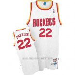 Camiseta Houston Rockets Clyde Drexler #22 Retro Blanco