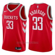 Camiseta Houston Rockets Ryan Anderson #33 Swingman 2017-18 Rojo
