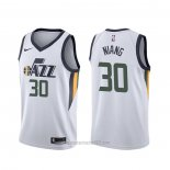 Camiseta Utah Jazz Georges Niang #30 Association Blanco
