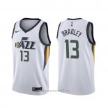 Camiseta Utah Jazz Tony Bradley #13 Association Blanco