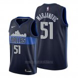 Camiseta Dallas Mavericks Boban Marjanovic #51 Statement Azul