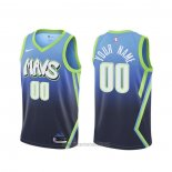 Camiseta Dallas Mavericks Personalizada Ciudad Azul