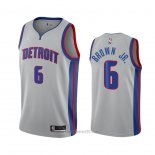 Camiseta Detroit Pistons Bruce Marron Jr. #6 Statement 2020-21 Gris