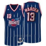 Camiseta Houston Rockets James Harden #13 Retro Azul