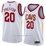 Camiseta Cleveland Cavaliers Billy Preston #20 Association 2018 Blanco