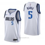 Camiseta Dallas Mavericks J.j. Barea #5 Association Blanco